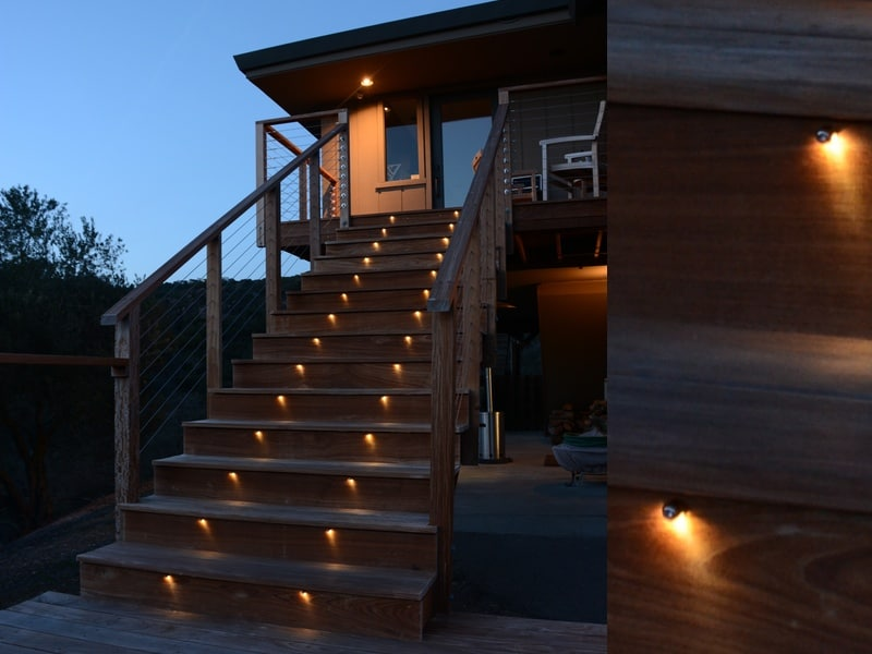 Deck Stair Lighting LED Bolts