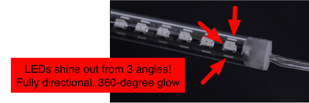 360 degree LED tube