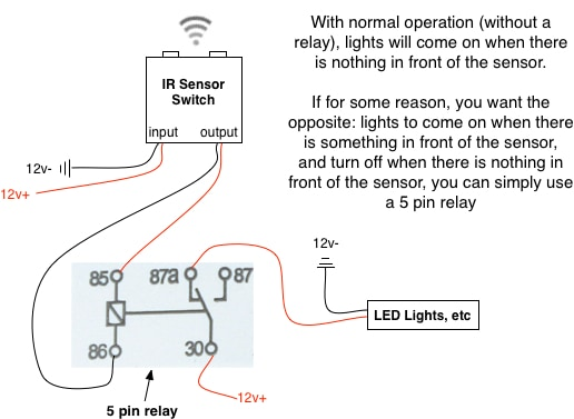 ir_relay 3 wire proximity sensor wiring diagram 4 wire sensor diagram wiring diagram for proximity sensor at gsmx.co