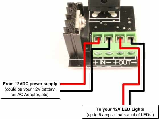 wiring diagram led dimmer switch wiring image led dimmer knob panel mount oznium on wiring diagram led dimmer switch