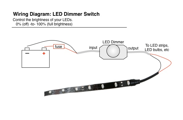 led_dimmer_diagram_basic  Volt Lighted Atv Handlebar Switch Wiring Diagram on