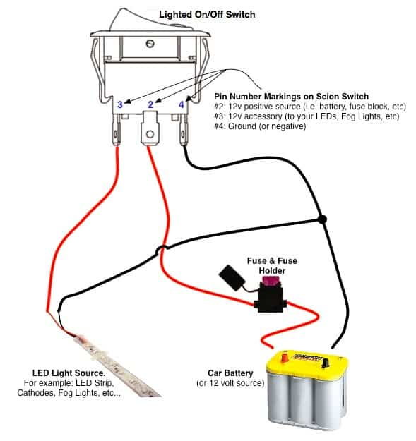 Scion OEM Style LED Lighted Rocker Switch | Remotes & Switches on jeep wrangler fog light diagram, scion xa fog light diagram, nissan patrol fog light diagram, isuzu rodeo fog light diagram, honda civic fog light diagram, acura rsx fog light diagram, acura rl fog light diagram,